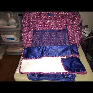Vera Bradley diaper bag!